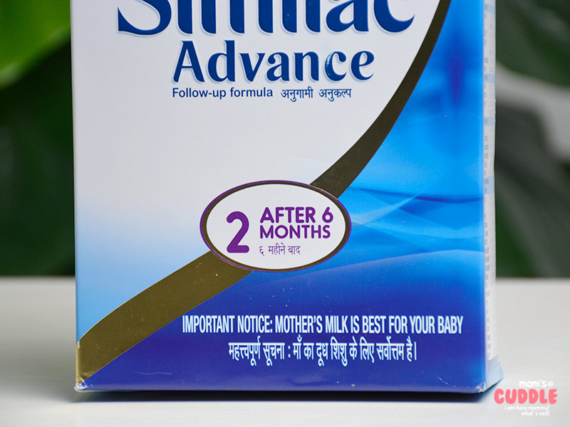 Similac Advance Stage 2 - Used and Reviewed