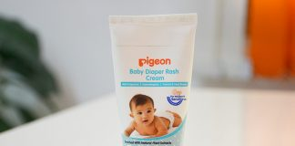Review on Pigeon Baby Diaper Rash Cream