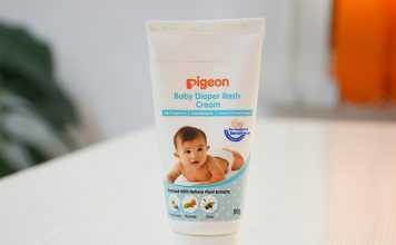 Review on Pigeon Baby Diaper Rash Cream (1)